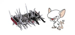 Swiss Army Knife Vs Mouse